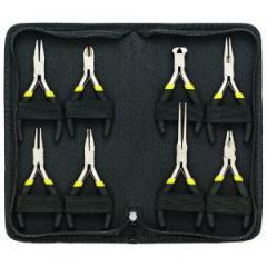8-Piece Precision Mini Pliers Set