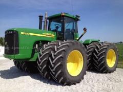 Tractor JOHN DEERE 9520