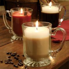 Winter Comforts Mug Candles
