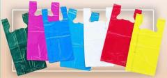 High Density Colored T-Shirt Bags