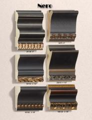 Nero Range of Moldings