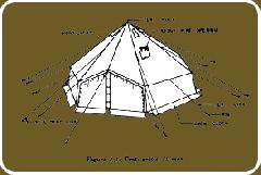 Arctic Tent and Hexagonal Tent