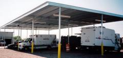Commercial Cover - Freestanding 14′ high