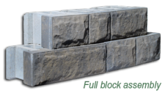AB Fieldstone is a Revolutionary Retaining Wall