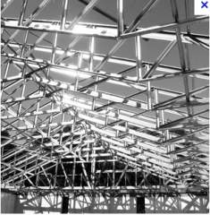 Cold formed steel roof trusses
