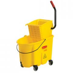 Rubbermaid® WaveBrake™ Mop Bucket and Wringer