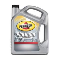 Pennzoil Platinum Motor Oil, Synthetic, 5W30,