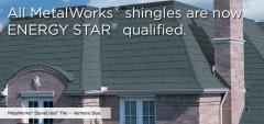 MetalWorks® StoneCrest® Tile Steel Shingles