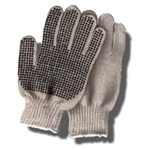 String Gloves with Plastic Dots