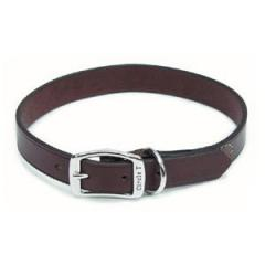 Leather Town Collar, Oak Tanned