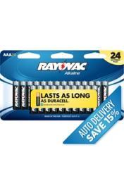 Alkaline Batteries AAA 24 Pack
