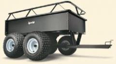 2012 Agri-Fab Tandem Axle Steel ATV/UTV Dump Cart