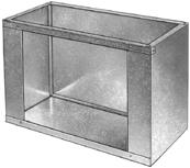 Return Air Box Vertical
