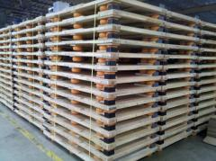 Shock Isolation Pallets