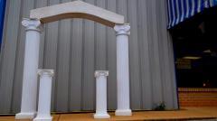White Arches & Columns