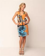 Elegance Printed Dress