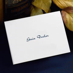 Simply Sensible Personalized Stationery