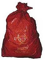 """Biohazard Red Bags 24"""" x 23"""""""