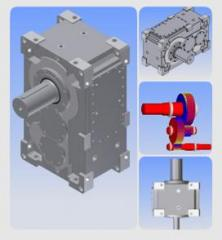 Industrial Parallel Shaft Gear Boxes