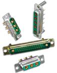 Combination D-Subminiature Connectors