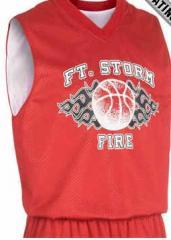 Reversible Tricot Mesh Basketball Jerseys