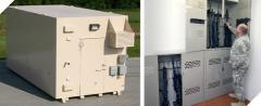 Secure, re-locatable weapons storage vaults