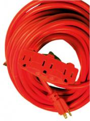 Three wire extension cords
