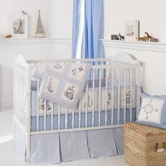 3 pc Crib Set, Whistle & Wink