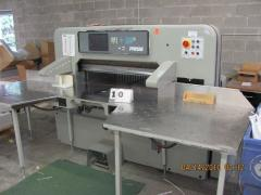 """1999 Prism 115 45"""" computerized cutter, air"""