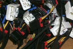 Custom discrete wiring harnesses