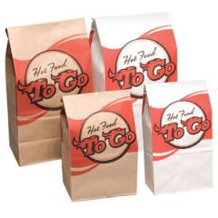 Hot Food to Go Bags