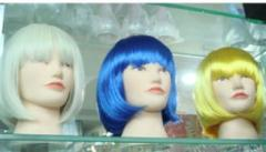 Colorful short party wigs