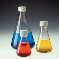 4112 NALGENE Sterile Disposable Flasks, Plain