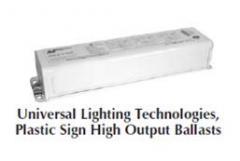 Universal™ Lighting Technologies, Plastic Sign