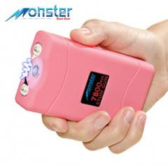 Monster 7,800,000 Rechargeable Stun Gun w/ LED