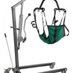 Hydraulic Standard Patient Lift with Six Point