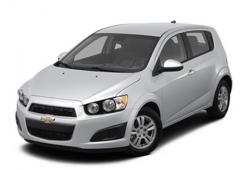 Vehicle Chevrolet Sonic Blue 2012