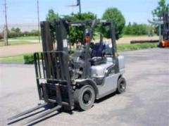Nissan MPL02A25LS Pneumatic Forklift