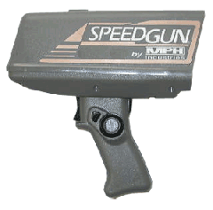 Handheld Radar SpeedGun by MPH