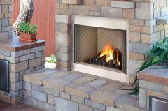 EODG Outdoor Gas Fireplace