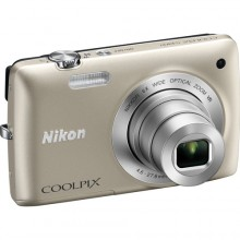 Nikon Coolpix S4300 Digital Camera Silver