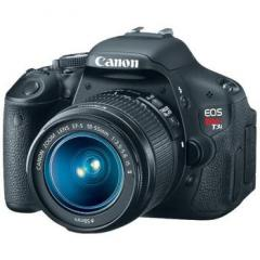 Canon  EOS Digital Rebel T3i with EF-S 18-55mm