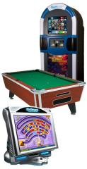 Pool Tables and Dart Machines