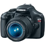 Canon EOS Rebel T3 DSLR Camera w/EF-S 18-55 Lens