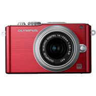 Olympus E-PL3 PEN Digital Camera w/ m14-42mm Lens