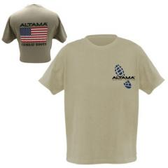 Tan flag T-shirt