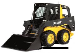 John Deere 318D Skid Steer