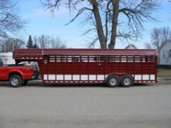 Stockman Livestock Gooseneck Trailer