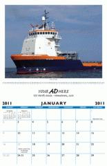 Custom Calendar Saddle Stitched