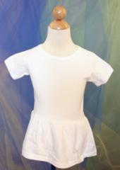 White Cotton Dress from Kiddy Kats